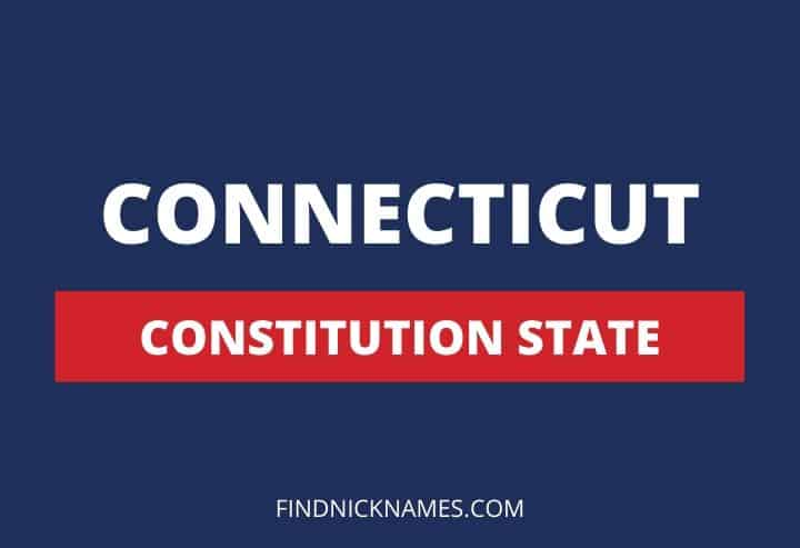 Connecticut Nicknames