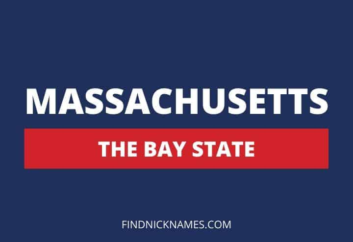 Massachusetts Nicknames