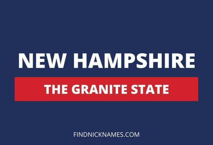 New Hampshire Nicknames