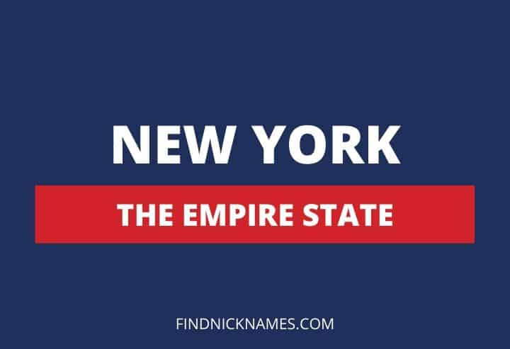 New York Nicknames