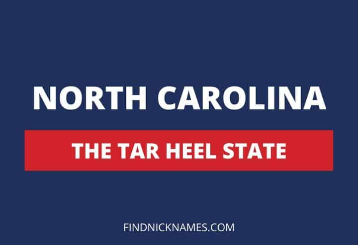 North Carolina Nicknames