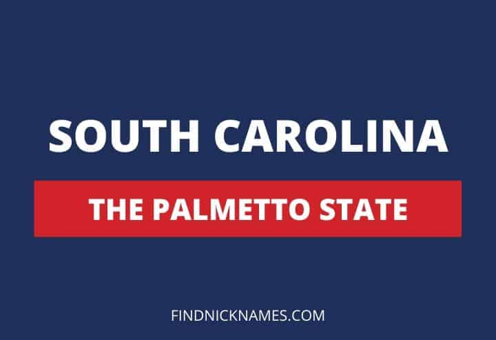 South Carolina Nicknames