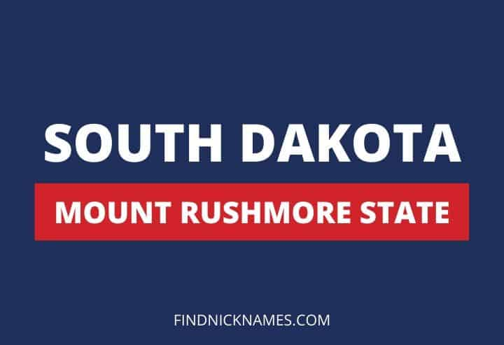 South Dakota Nicknames