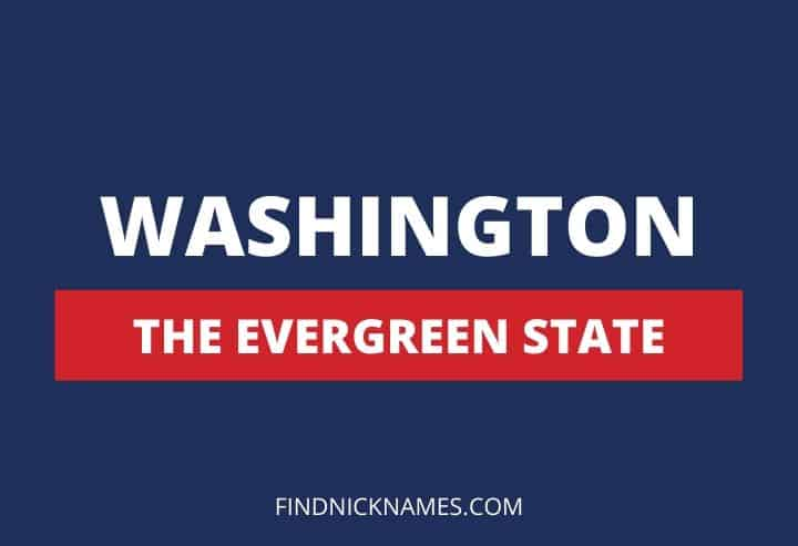 Washington Nicknames