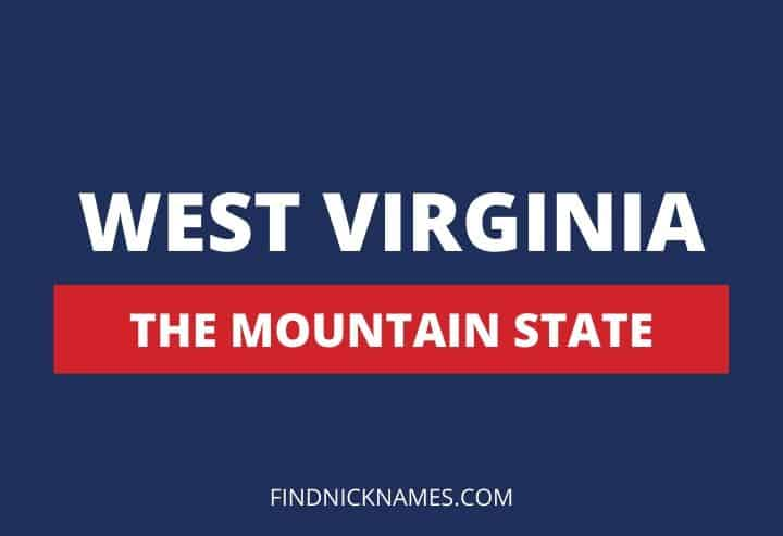 West Virginia Nicknames