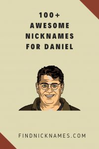 Nicknames For Daniel