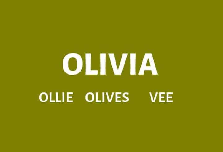 Nicknames For Olivia