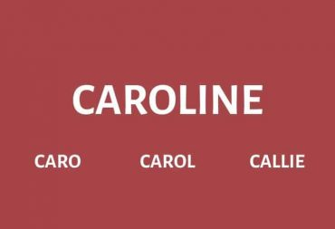 Nicknames for Caroline
