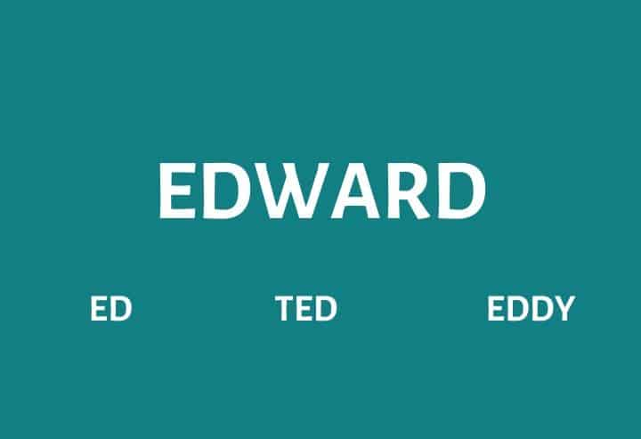 Nicknames for Edward