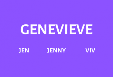 Nicknames for Genevieve
