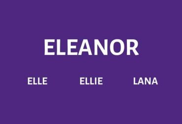 Nicknames for Eleanor