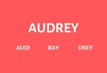 Nicknames for Audrey
