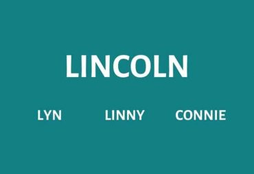 Nicknames for Lincoln