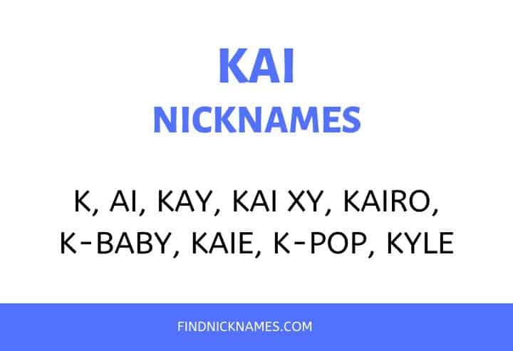 Nicknames for Kai