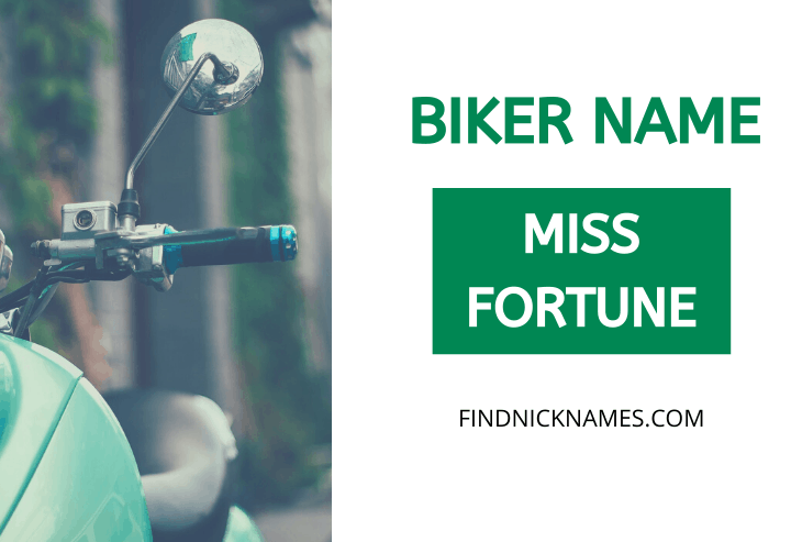 Biker Names Starting With M
