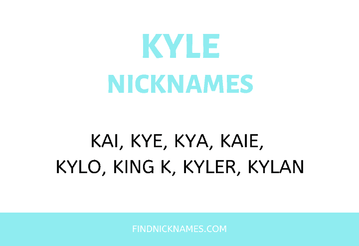 Nicknames for Kyle